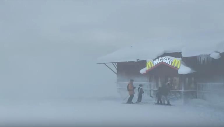 mcdonalds ski trivia